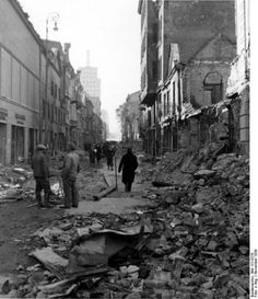 wwiiphoto:  The Jewish Ghetto, Warsaw, Poland