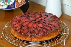 Pluot Upside-Down Cake