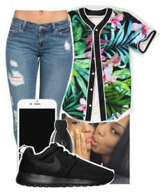 """""""$ingle Life"""" by kitty-ma ❤ liked on Polyvore featuring NIKE"""