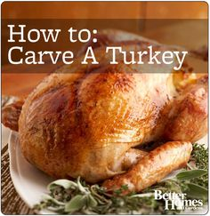 #Thanksgiving is just a few weeks away! Learn how to carve a #turkey here: http://www.bhg.com/videos/m/61446617/how-to-carve-a-turkey.htm