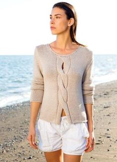 Knitting Patterns Pullover Model of the month February 2018 Crochet Pullover Pattern, Sweater Knitting Patterns, Knitting Designs, Knit Patterns, Summer Knitting, Free Knitting, Baby Knitting, Pull Torsadé, Hand Knitted Sweaters