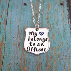 Check out this item in my Etsy shop https://www.etsy.com/listing/388929336/my-heart-belongs-to-an-officer