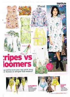 Ted Baker Footwear in Heat Magazine 04.03.14