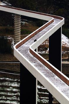 Pedestrian Bridge - Ribeira da Carpinteira by Carrilho da Graça arquitectos