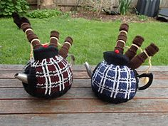 Ravelry: the bagpiper pattern by Lindsay Clare