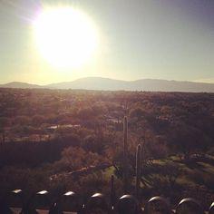 A beautiful sunrise over the Santa Catalina Mountains   The Westin La Paloma Resort & Spa