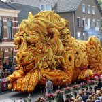 The Annual 'Corso Zundert' Flower Parade Features Radically Designed Floats…