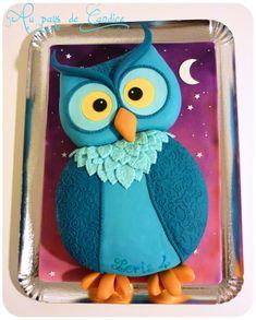 Gâteau Hibou