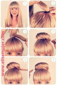Peinado fácil para diario paso a paso