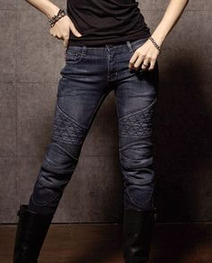 d07286d2b2093 UglyBros - riding jeans with hip and knee protectors