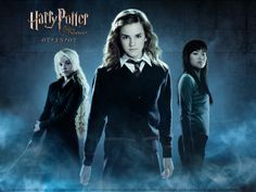 Evanna Lynch, Emma Watson and Katie Leung respectively as Luna Lovegood, Hermione Granger and Cho Chang. they are my favorite characters in the harry potter series Harry Potter Poster, Images Harry Potter, Harry Potter Movies, Harry Potter World, Hermione Granger, Ron Y Hermione, Ravenclaw, Katie Leung, Phoenix Wallpaper
