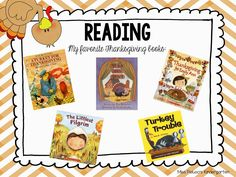 November and Thanksgiving read alouds! These books are perfect for grades K-2.