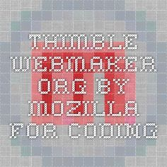 thimble.webmaker.org by Mozilla for coding
