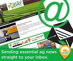 Do you get our #newsletter? Get #essential #ag #news straight to your inbox! http://californiaagtoday.com/enewsletter/