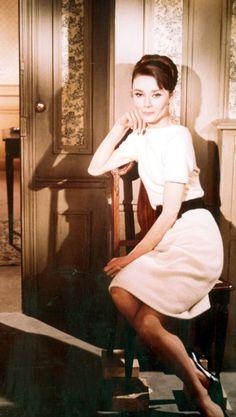 """Audrey Hepburn in """"Charade"""" (1963, dir. Stanley Donen)"""