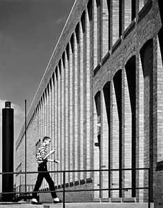 Balthazar Korab photo of Northside school by Harry Weese, in Columbus, Indiana   New York Times