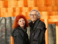 They are contemporary artists who met and married and worked as a team until Jeanne-Claude's death on November 18, 2009. They met in Paris, France in October 1958.    They both were born on the same day - June 13, 1935. Christo Vladimirov Javacheff was born in Gabrovo, Bulgaria. Jeanne Claude Denat de Guillebon was born in Casablanca, Morocco to French parents. They decided to just use their first names as artists.