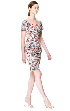 FLORAL PRINT DRESS - Woman - New this week | ZARA United States