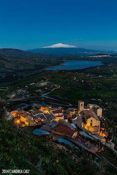 Agira-Enna- , Lake Pozzillo, Etna,Sicily #etna