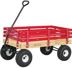 AMISH HEAVY DUTY WAGON 40x22 Bed Solid Quality Cart * 4 Color Choices * USA Made