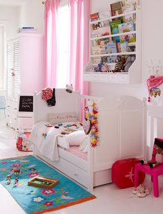kleurrijke meisjeskamer