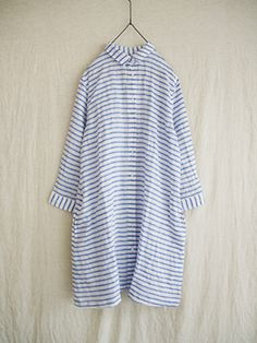 i c h i linen border shirts one piece (#140411)