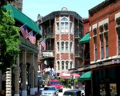 Eureka Springs is a very quaint little place. I'd love to get back there and visit again.