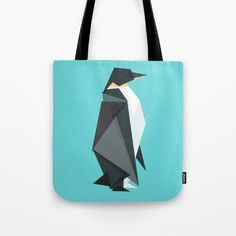 $18 BUY NOW This fractal penguin graphic is so pretty we wouldn't mind seeing it on everything, which is great because Society6 allows you to get this pattern printed on clocks, tees, mugs, wall art, blankets, or even a shower curtain if you want!