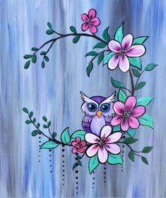 Join us for a Paint Nite event Thu May 2018 at 1800 Victoria Avenue East Reg. - Join us for a Paint Nite event Thu May 2018 at 1800 Victoria Avenue East Regina, SK. Easy Canvas Painting, Simple Acrylic Paintings, Fabric Painting, Diy Painting, Painting & Drawing, Canvas Art, Owl Paintings, Fabric Paint Shirt, Wedding Painting