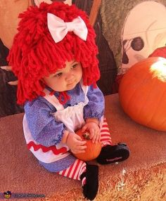 Raggedy Ann - 2013 Halloween Costume Contest if I have a little girl this is going to be her outfit next October:) so cute!!!