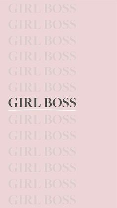 girl boss wallpaper iphone wallpapers wallpapers e girl . Boss Wallpaper, Bad Girl Wallpaper, Pink Wallpaper, Wallpaper Quotes, Quote Aesthetic, Pink Aesthetic, Citations Film, Boss Quotes, Photo Wall Collage