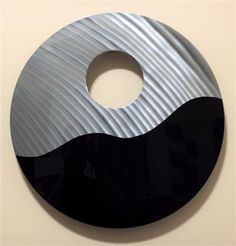Contemporary metal wall art - gloss black stainless steel Contemporary Metal Wall Art, Metal Art, Black Stainless Steel, Sculpting, Whimsical, Sculptures, Walls, Canvas, Homes