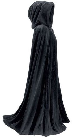 Truthfully, I've always wanted a cloak. Long, black, mysterious cloak. Even though I have no reason to own one, except that I want to.