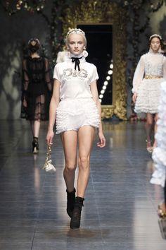 Dolce & Gabbana, fashion show winter 2013 Stefano Gabbana, Winter Looks, Fall Winter, Fashion Beauty, Womens Fashion, Peplum Dress, Ready To Wear, Fashion Show, Clothes For Women