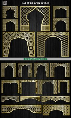 All panel drawings are in one common file. ***************************************** Description Set of 20 vector cliparts ( room divider screen) panels, arab arches Autocad, Room Divider Screen, Room Screen, Pooja Room Design, Home Room Design, Arabian Decor, Cnc Maschine, Cnc Cutting Design, Laser Cut Panels