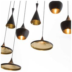 Buy Tom Dixon Beat Fat Black Pendant Light online with Houseology Price Promise. Full Tom Dixon collection with UK & International shipping. Tom Dixon Beat, Large Pendant Lighting, Black Pendant Light, Pendant Lights, Gold Pendant, Black Pendants, Pendant Lamps, Tom Dixon Lampe, Interior Lighting