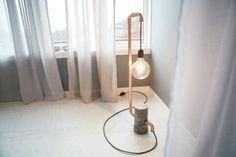 Kreativ lampe. Fra tv2 programmet Tid for hjem