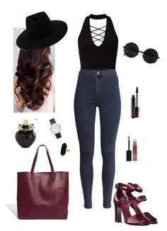 """""""#43"""" by stydialover on Polyvore featuring Miss Selfridge, H&M, rag & bone, Madewell, Jaeger, Maybelline, MAC Cosmetics and Aéropostale"""