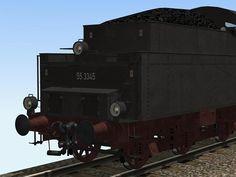 DB BR55 mit T16.5 Kohletender. Ab #EEP10 http://j.mp/DB-BR55-T16-5-Kohletender