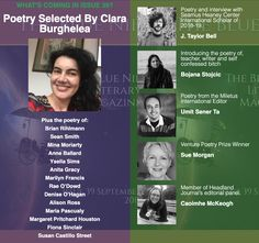Poetry selected by Clara Burghelea. Seamus Heaney, The Selection, Writer, Interview, Poetry, Teacher, Blue, Professor, Writers