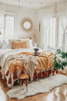 Home Interior Living Room .Home Interior Living Room Room Ideas Bedroom, Home Decor Bedroom, Bedroom Inspo, Bedroom Designs, Bohemian Bedroom Design, Bohemian Decor, Boho Teen Bedroom, Boho Dorm Room, Bedroom Inspiration