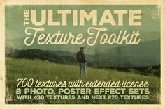 The Ultimate Texture Toolkit by Cruzine on @creativemarket
