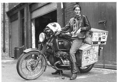 24-year-old Elspeth Beard - solo ride around the world on her used 1974 R 60/6 BMW