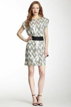 Chevron Dress.