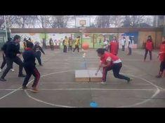 Juegos Educación Física - Que No Caiga En Mi Lado - YouTube