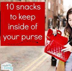 Top 10 after school snacks