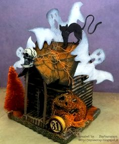 Love this Spooky house by Barbara for the Simon Says Stamp Monday challenge (Monster Mash)