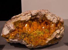 Wulfenite Geode