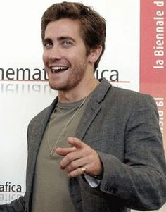 "2005-09-02: Jake helps present ""Brokeback Mountain"", in its first public screening, at the 62nd Venice Film Festival."