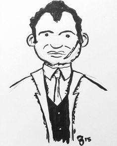 #inktober Day 7: Gangster  #manuscriptinktober @manuscriptpenco http://j.mp/1WOz1E8
